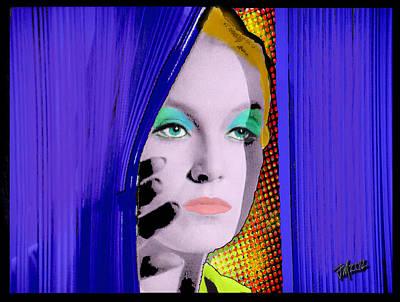 Digital Art - Cybernaut Peek by Joe Michelli