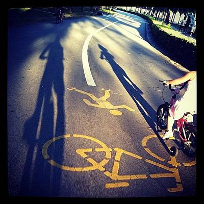 Cycling Photograph - Cycling by Zachary Voo