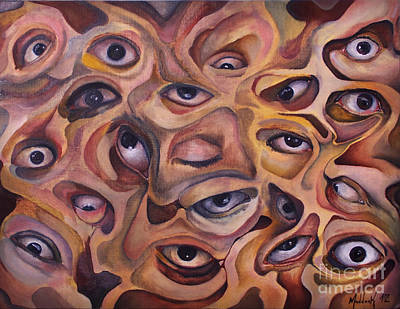 Limbo Painting - Cyclopia by Oblivion Arts