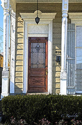 Photograph - Cypress Door by Cheri Randolph