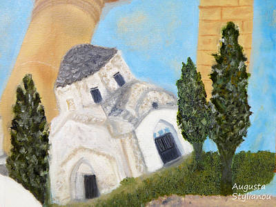 Cyprus Church Of Saint Andronikos Art Print by Augusta Stylianou