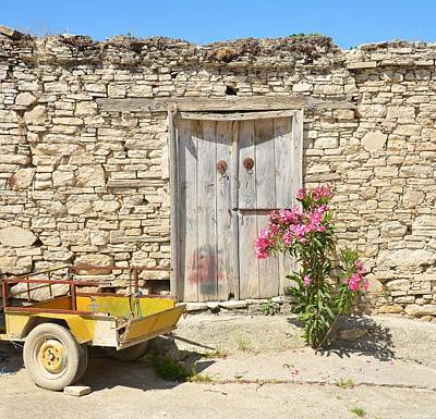 Stone Photograph - Cyprus Life by Catherine Murton