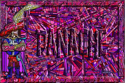 The Verve Digital Art - Cyrano's Panache by Douglas Christian Larsen