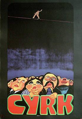 Mixed Media - Cyrk by Jan Sawka