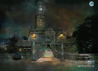 Czocha Castle  Original by Andrzej Szczerski