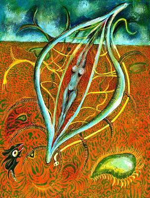 Dacian Dreamcatcher Art Print by Ion vincent DAnu