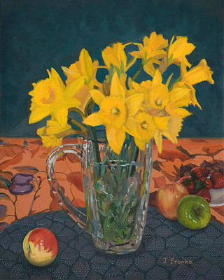 Painting - Daffodil Medley by Joanna Franke