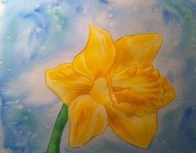 Painting - Daffodile by Stephanie Reid