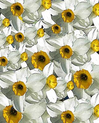 Daffodils Art Print by Patricia Januszkiewicz