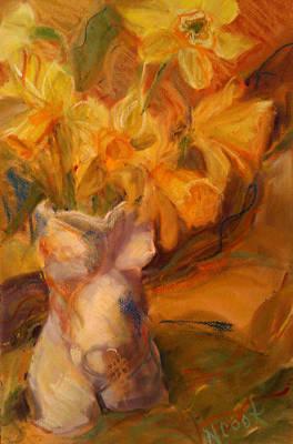 Pastel - Daffys by Nanci Cook