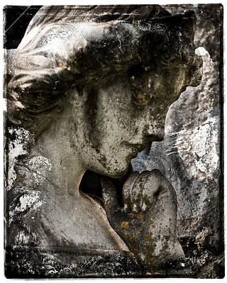 Daguerrotype Angel Art Print by Sonja Quintero