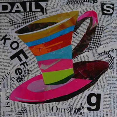 Daily Koffee Print by Lynn Chatman
