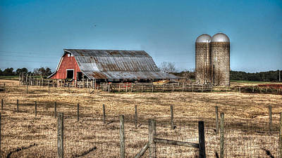 Dairy Barn Art Print by Michael Thomas