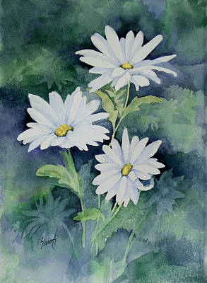 Painting - Daisies II by Sam Sidders