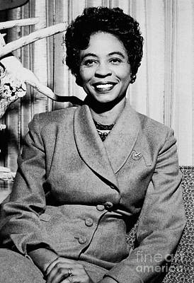 Photograph - Daisy Bates (1914-1999) by Granger