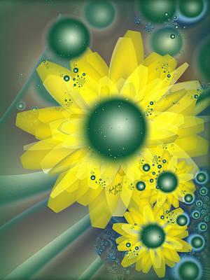 Digital Art - Daisy Daisy by Karla White