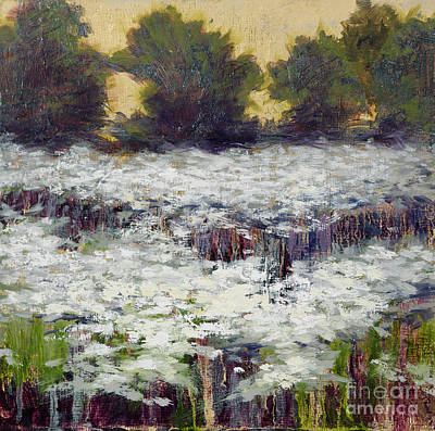 Painting - Daisy Field II by Vic  Mastis
