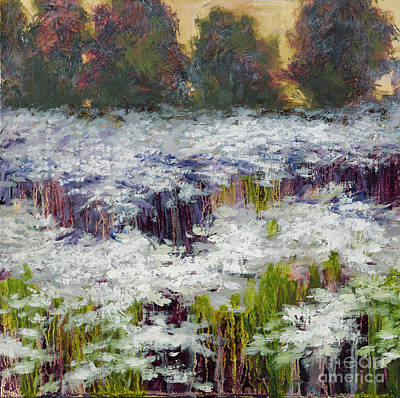 Painting - Daisy Field by Vic  Mastis