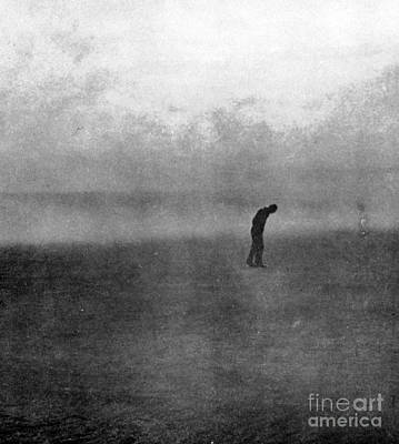 Sirocco Photograph - Dakota Farmer, Dust Bowl, 1935 by Science Source