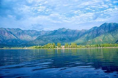 Dal Lake Art Print by Clicked By Aalok