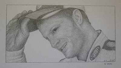 Dale Earnhardt Jr. Original by Rick Yanke