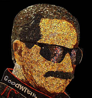 Dale Earnhardt Tribute Art Print