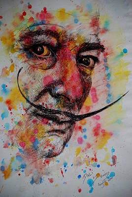 Painting - Dali by Lynn Hughes