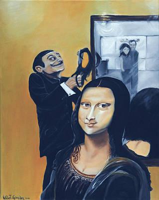 Surreal Painting - Dalisa by Natalie Trujillo