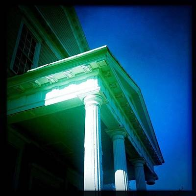 Classical Photograph - #dalkeith #federalperiod #arcola by James Roberts