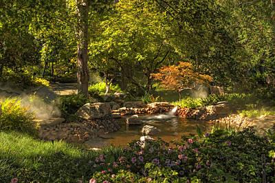 Dallas Arboretum Art Print