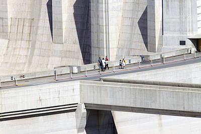 Photograph - Dam Tourists by Ricky Barnard