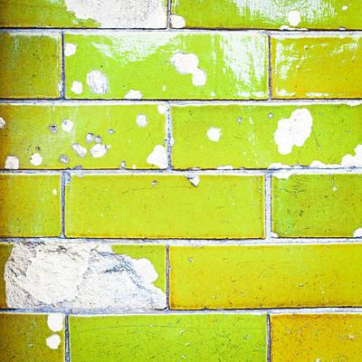 Stonework Photograph - Damaged Wall by Tom Gowanlock