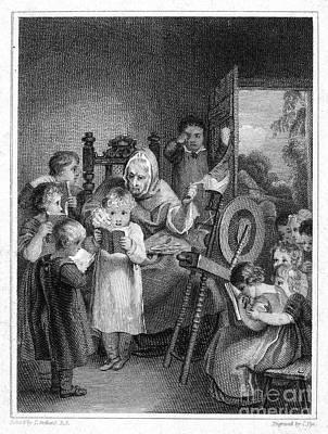 Dames School, 1812 Art Print by Granger