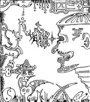 Damn Those Bastards Art Print by Teej Slusher