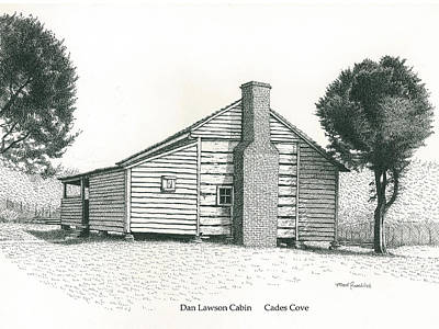 Dan Lawson Cabin Art Print by Mark Froehlich