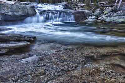 Photograph - Dana Fork Cascades by A A
