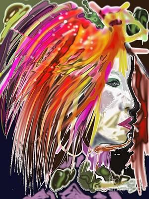 Dana Art Print by Myrtle WILSON
