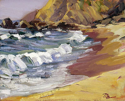 Dana Point Beachhead Art Print by Mark Lunde