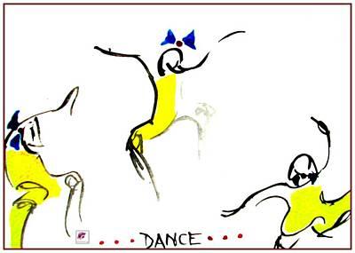 Painting - Dance by Carol Rashawnna Williams