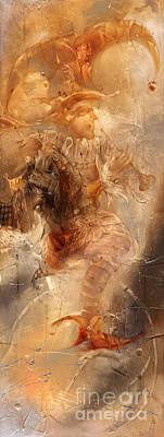 Painting - Dance For King by Svetlana and Sabir Gadzhievs