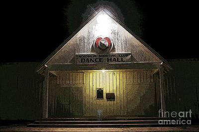 Dance Hall Nordheim Tx Art Print by David Carter