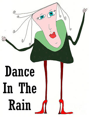 Mellow Yellow - Dance In The Rain by Donna Daugherty