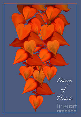 Photograph - Dance Of Hearts by Nancy Greenland