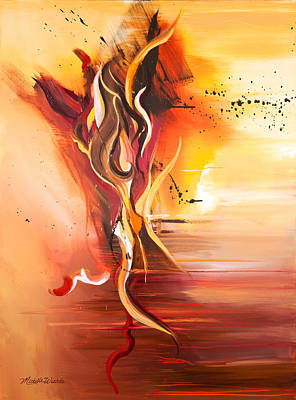 Painting - Dance Of Passion by Michelle Wiarda-Constantine