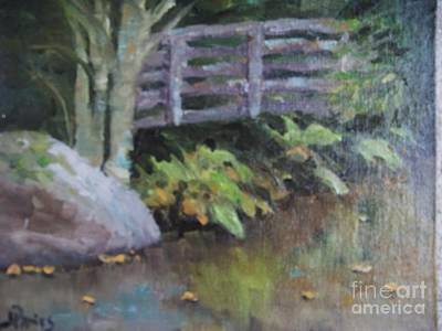 Wall Art - Painting - Dance Of The Ferns by Judy Parins