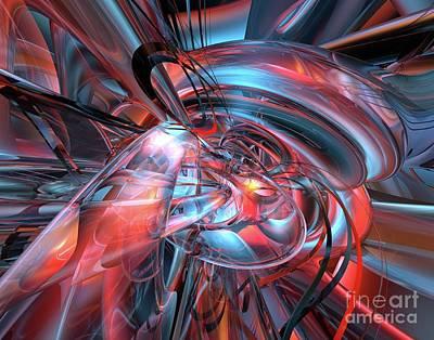 Bookmarks Digital Art - Dance Of The Glassmen Fx by G Adam Orosco