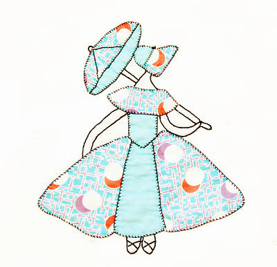 Block Quilts Photograph - Dancer And Parasol 1 by Marilyn Hunt