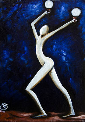 Painting - Dancer Of Light  by Simona  Mereu