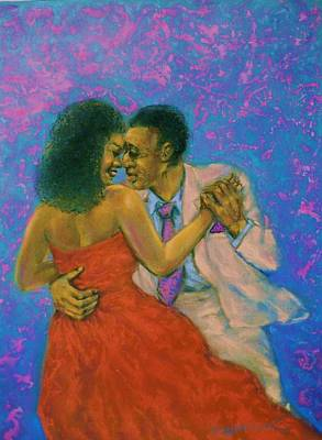 Pastel - Dancers by Terry Jackson