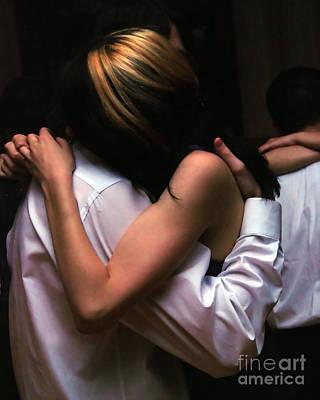 Dancing Art Print by Anne Ferguson